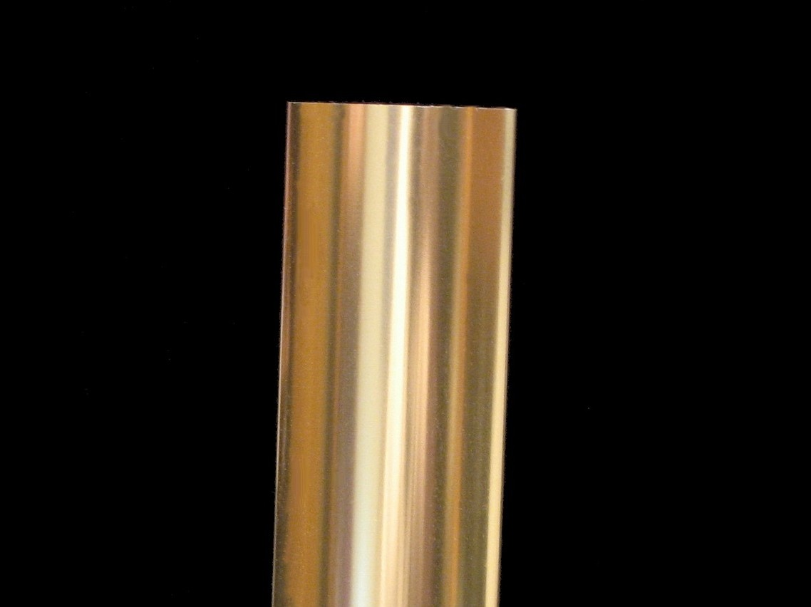 Polished Champagne Color Anodized Aluminum