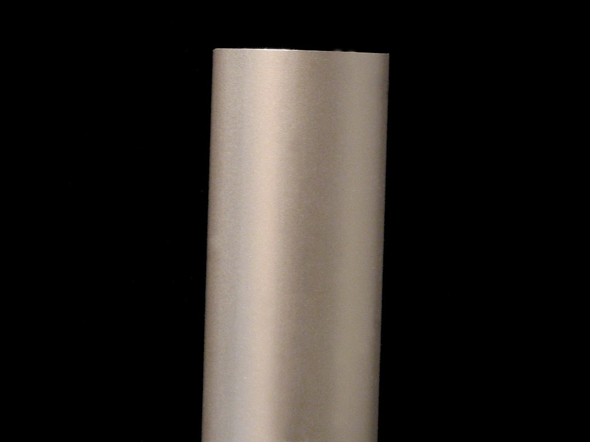 Satin Titanium Color Anodized Aluminum