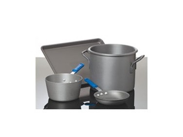 Type III Hard Coat Anodized Aluminum Cookware