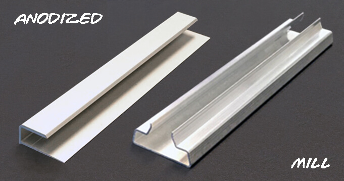 Type III Hard Coat Anodized Aluminum Parts