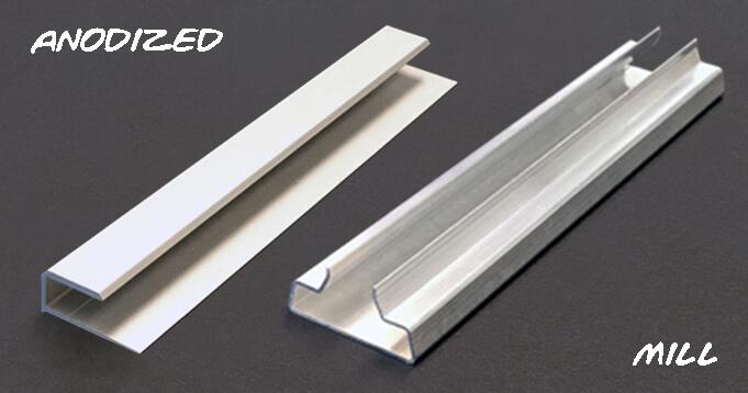 Bright Dip Anodized Aluminum Parts