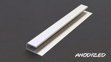 Clear and Color Anodized Aluminum Components