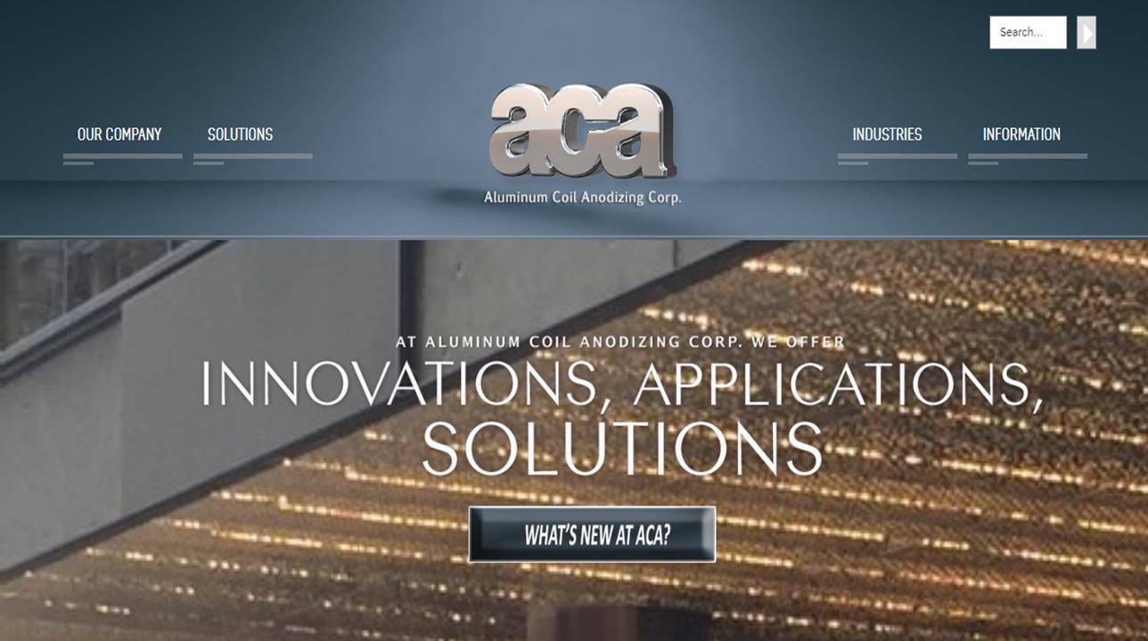 Aluminum Coil Anodizing Corporation