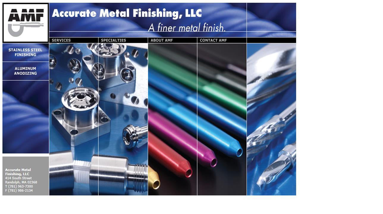 Accurate Metal Finishing, Inc.