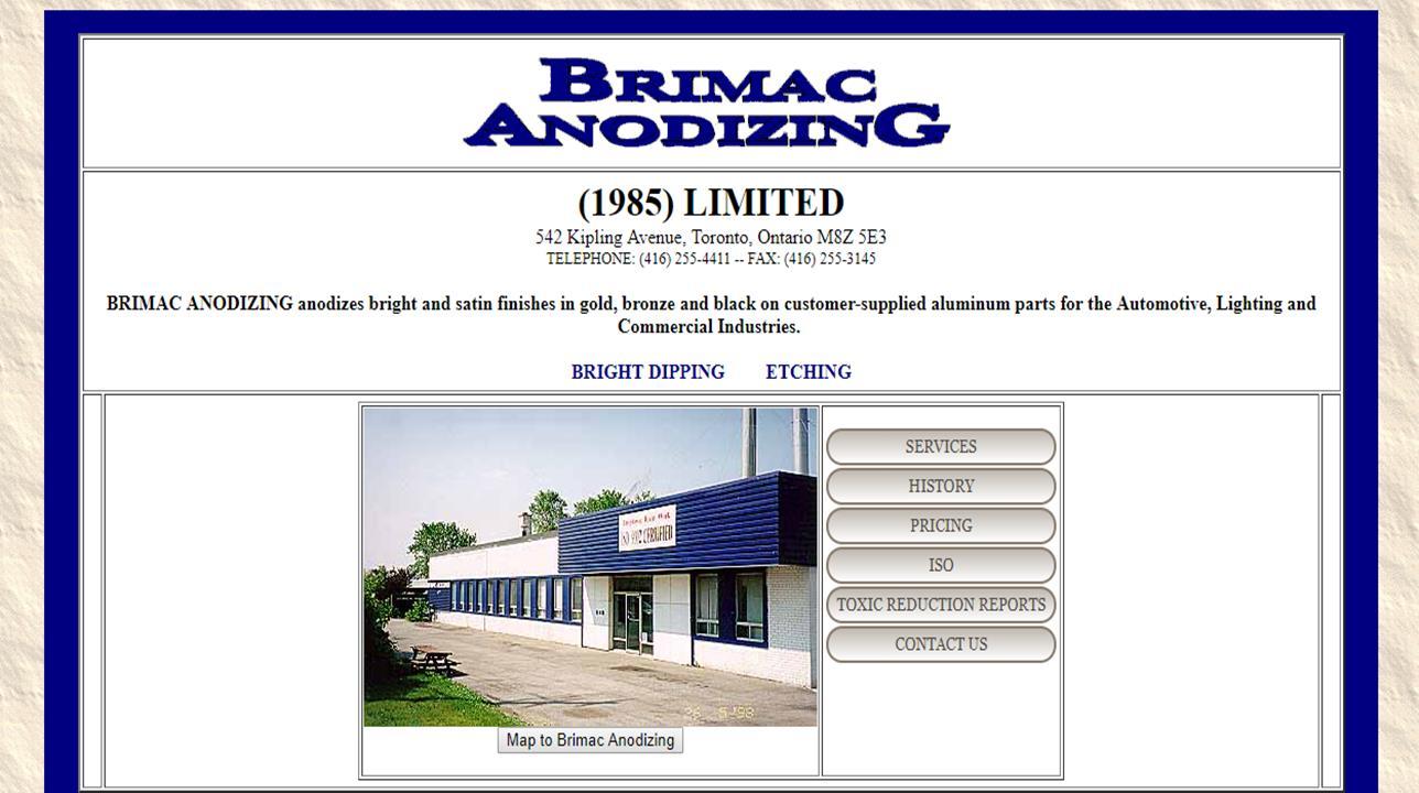 Brimac Anodizing, Ltd.