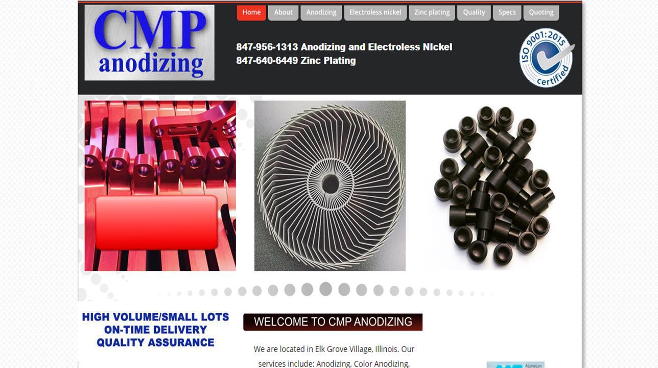 CMP Anodizing