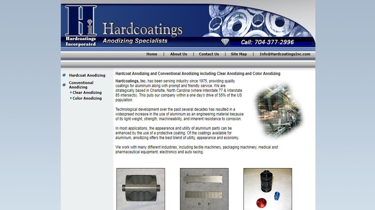 Hardcoatings, Inc.