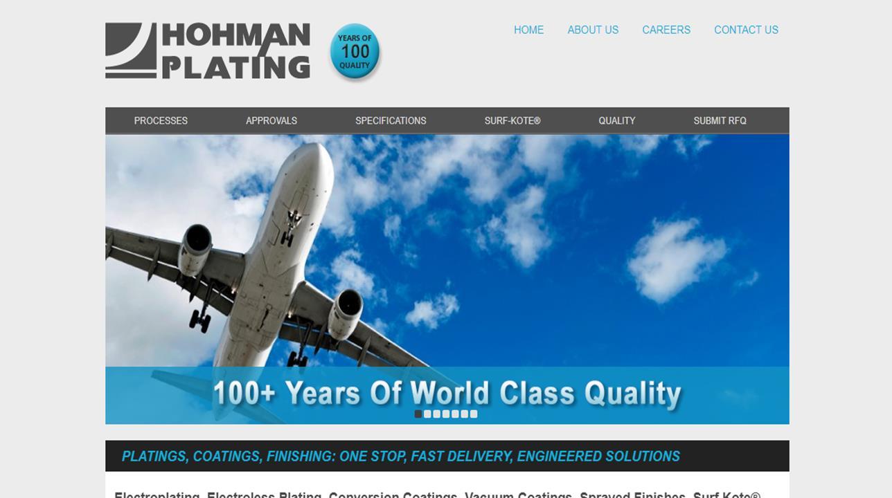 Hohman Plating & Manufacturing, Inc.