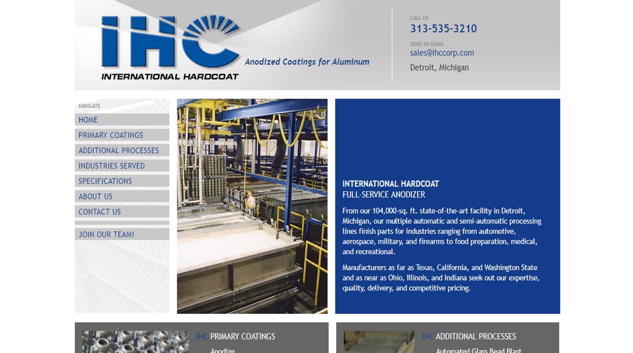 International Hardcoat, Inc.