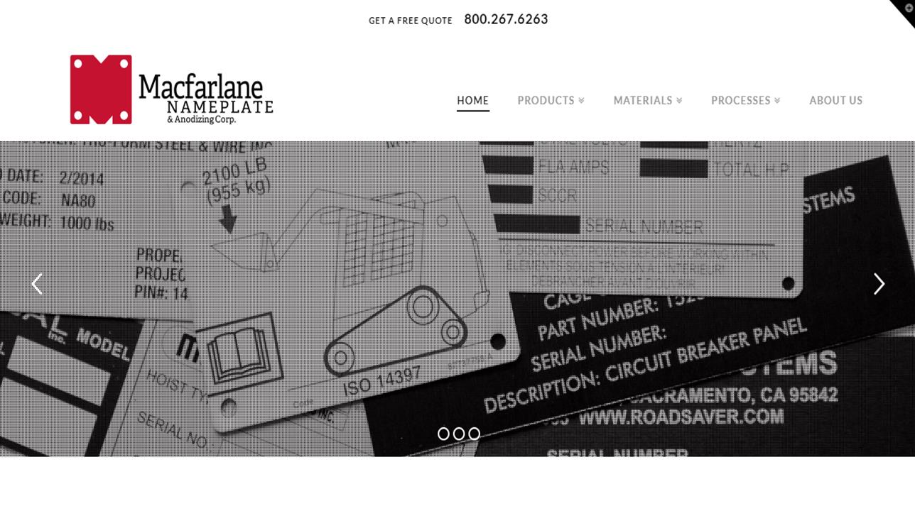 Macfarlane Nameplate & Anodizing Inc.