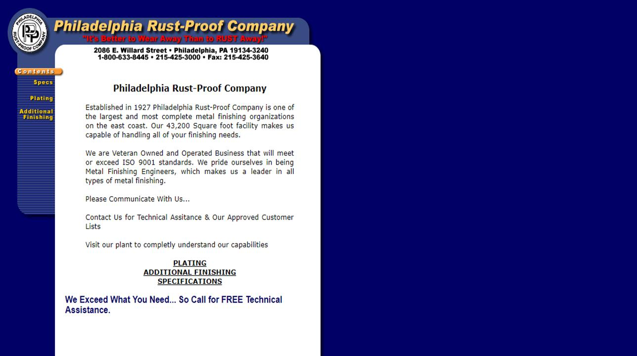 Philadelphia Rust-Proof Company