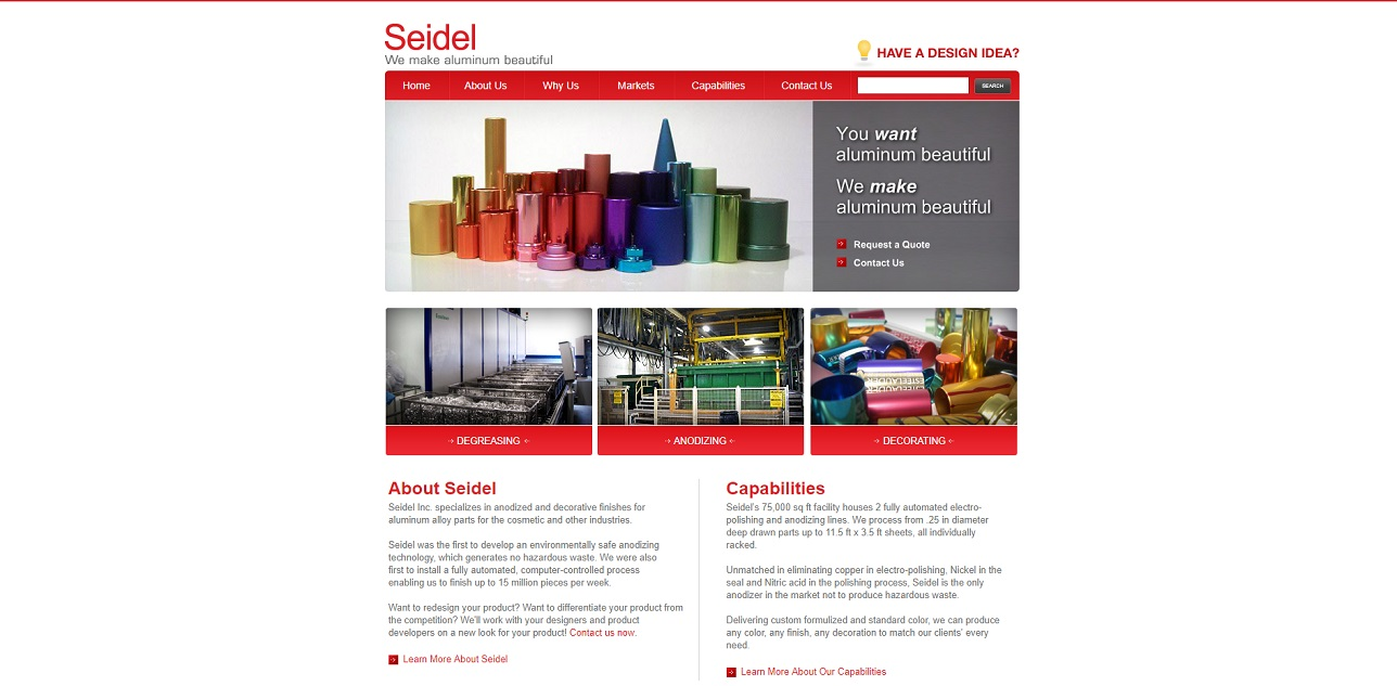 Seidel, Inc.