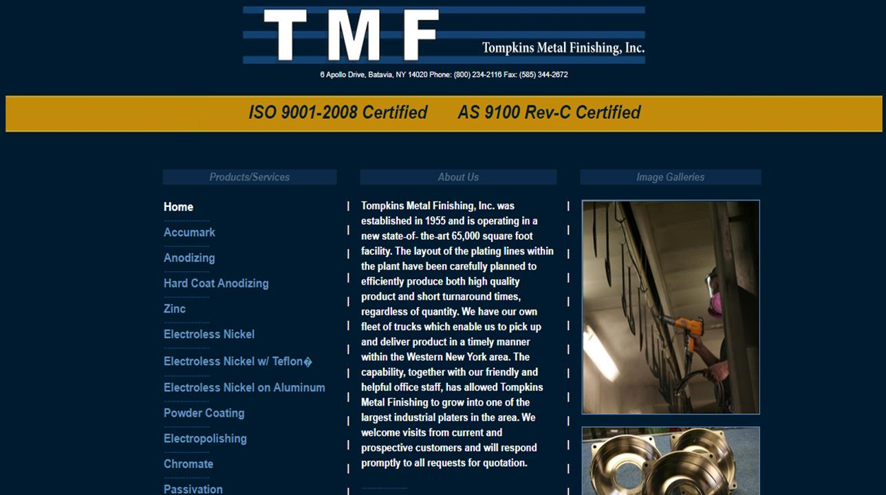 Tompkins Metal Finishing, Inc.