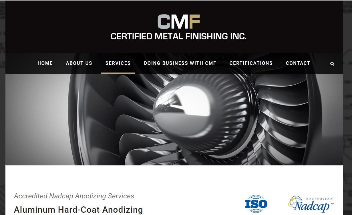 Certified Metal Finishing, Inc.
