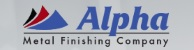 Alpha Metal Finishing Company Logo